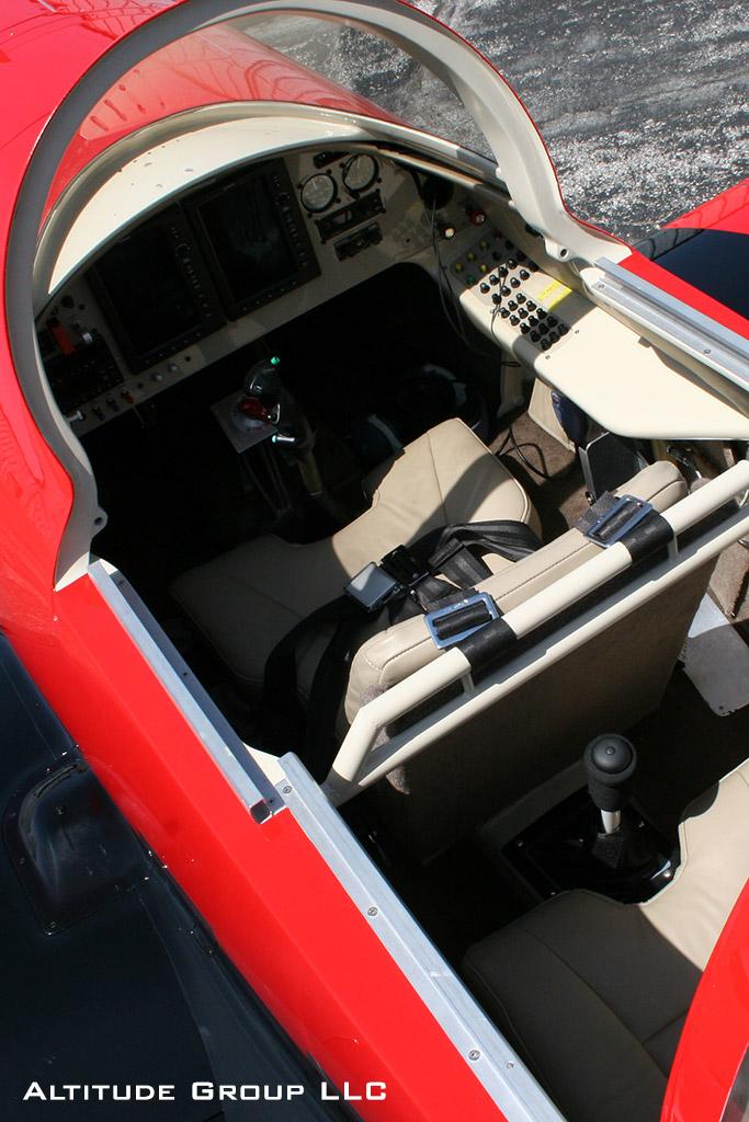 Radial Rocket RG Cockpit