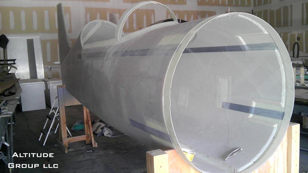 Radial Rocket Fuselage